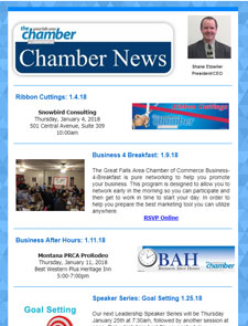 Great Falls Chamber Newsletter